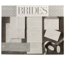 BRIDES Premium White Invitations