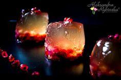 Aleksandra's Recipes: Pear cider jelly with pomegranates