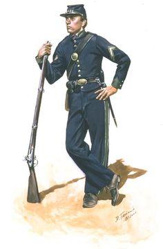 Confederate; Irish Jasper Greens, Corporal, Fort Pulaski, 1861 by Don Troiani