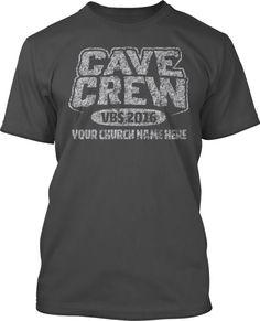 Cave Quest Crew VBS 2016 T-Shirt Design #16110
