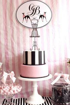 fashionista cake for my sweet Addie Bee