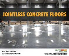 Ultra Floor brings to you virtually crackless and Industrial Flooring, Concrete Floors, Over The Years, Concrete Floor