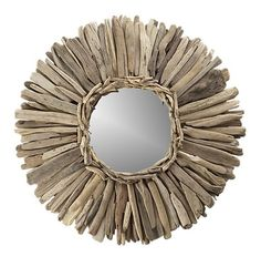 Image detail for -Driftwood mirror: