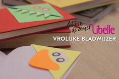 Een kinderboek (voor)lezen wordt eens zo leuk met deze vrolijke bladwijzer…