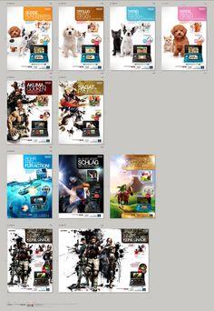 Diverse Poster - alle im Raster für Nintendo 3DS