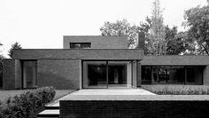 BA Residence by Vincent Van Duysen, Koen Van Damme Minimal Architecture, School Architecture, Residential Architecture, Contemporary Architecture, Interior Architecture, Contemporary Houses, Architecture Board, Contemporary Design, Modern Design