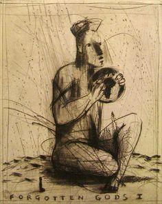 Deborah Bell: Forgotten Gods I - Rose Korber Art