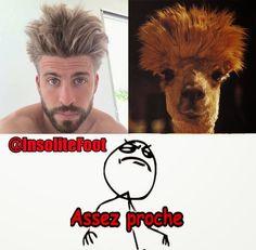 La nouvelle coupe de cheveux de Gerard Piqué ! - Insolite-Foot