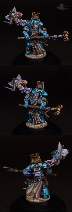 Ultramarines Librarian