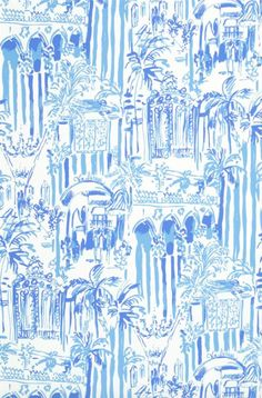Wallpaper Wednesday: Lilly Pulitzer for Lee Jofa - The English Room