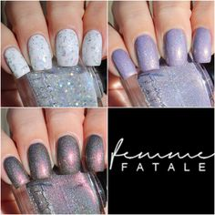 Femme Fatale Cosmetics Hella Holo Customs Exclusives - Swatches & Review by Oliva Jade Nails