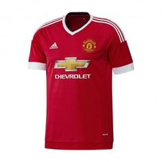 adidas Manchester United Junior Home Replica - Voetbalshirt - Heren - Maat 152 - Rood