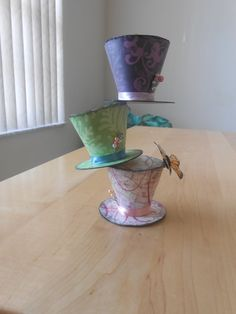 Alice in wonderland tea party table decor by WhimsicalKrafts, $6.00