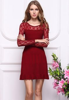 Dress for fall- LOVE the color