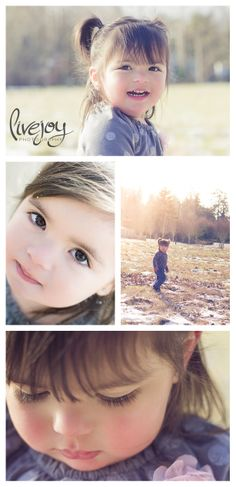 Children's Photography / Little Girl / Toddler #LiveJoyPhotography #Children #photography