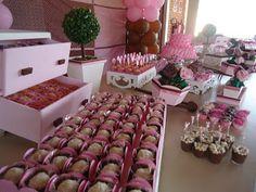 Doce Design Confeitaria: Linda bailarina de marrom e rosa - Isabela 9 anos