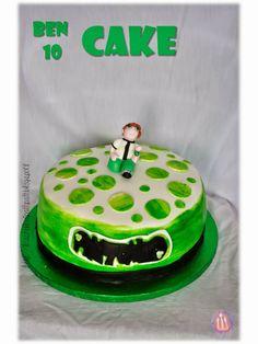 Ben Ten cake for a special kid