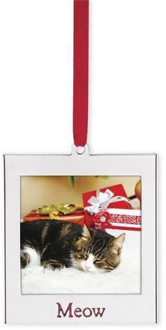 Lenox Meow Ornament Frame