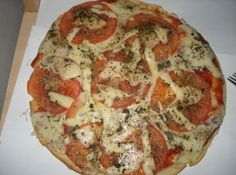 Receita de Pizza Simples - Cyber Cook Receitas...