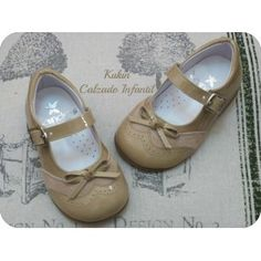Zapatos niña - Calzado infantil - Merceditas camel Landos