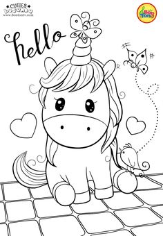 Cuties Coloring Pages for Kids – Free Preschool Printables – Slatkice Bojanke – … Cuties Coloring Pages for Kids – Free Preschool Printables – Slatkice Bojanke – Cute Animal Coloring Books by BonTon TV Free Kids Coloring Pages, Free Printable Coloring Sheets, Unicorn Coloring Pages, Disney Coloring Pages, Animal Coloring Pages, Coloring Pages To Print, Coloring Book Pages, Coloring For Kids, Free Coloring