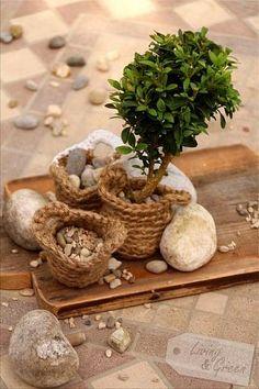 Basket Gardening *DIY* - Basket Gardening Häkelkorb DIY