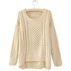 Check out this Women Hot Round Neck Hollow Knitted Pullover Jumper Loose Sweater Knitwear (Beige) that I found on Ziftit. Jumper, Pula, Loose Sweater, Pink Sweater, Beige, Fall Trends, Cable Knit Sweaters, Sweaters For Women, Cute Outfits
