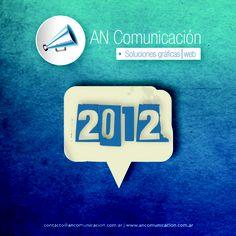 2012 #ancomunicacion 2012 Calendar, Enamel, Logos, Vitreous Enamel, Logo, Enamels, Tooth Enamel, Glaze