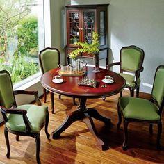 クラシカルロイヤル ケントハウスシリーズ ラウンドテーブル幅110cm 通販 - ディノス