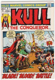 Kull The Conqueror #5 VF/NM, Marie and John Severin artwork, John Severin cover art. $23.50