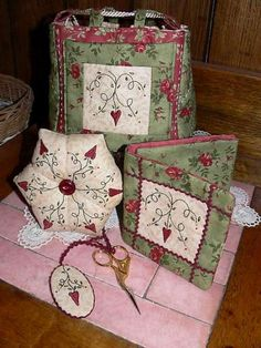 Gail Pan | Poppy's Sewing Set - by Gail Pan Designs - Pattern - $15.00 : Fabric ...