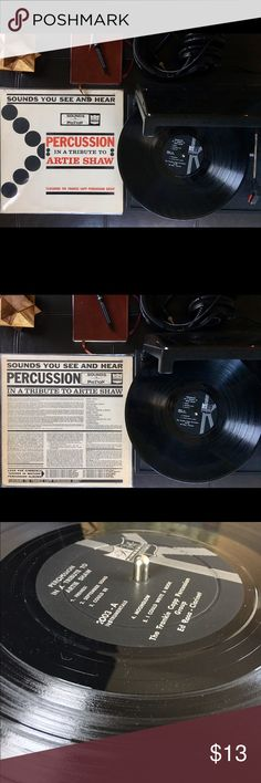 Percussion In A Tribute To Artie Shaw Vinyl Used record. Label:Kimberly Format: Vinyl,LP Genre: Jazz Style: Swing. Good condition. Vinyl sounds good. Other