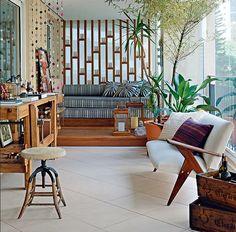 decoração futon varanda - Pesquisa Google