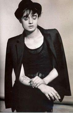 Pete Doherty - the original Hedi Slimane poster boy...lol