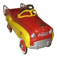 Gearbox Coca Cola Pedal Car