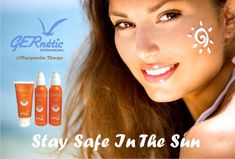 Summer is here! Remember to Stay Safe with GERnétic Sun Products #gernetic #gerneticuk #gerneticinternational #sunproducts #beach #summerishere #suncream #staysafe #explore #bestproduct #skincare #beautysalon #beautytreatment #madeinfrance #summersafe Summer Is Here, Enjoying The Sun, Coffee Bottle, Stay Safe, Face Products, Skin Care, Explore, Beach, The Beach