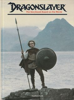 Vintage Dragonslayer Storybook 1981 Movie Book by ShopHereVintage
