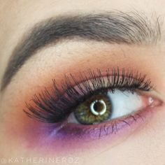 Bright smokey eye mad hatter inspired
