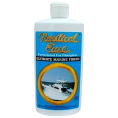 Nautical Ease Ultimate Marine Polish/Cleaner, Size: inch H x 2 inch W x inch Large, White Remove Water Spots, Deck Cleaner, Boat Cleaning, Mildew Remover, Nautical, Polish, Technology, Wax, Powder
