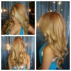 The Many Colors of Adriana: my blonding work for Shannon Hair www.shannonhair.com