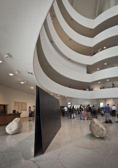 The Guggenheim museum in New York #modern #architecture