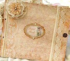 Large Wedding Guest Book - Ivory - 24