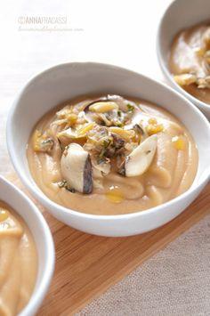 Yummy Food, Yummy Yummy, Yummy Recipes, Cheeseburger Chowder, Italian Recipes, Soup, Fish, Ethnic Recipes, Menu