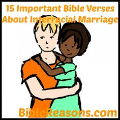 Bible verses used against interracial marriage