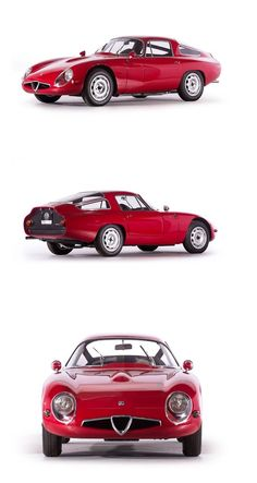 The Alfa Romeo TZ1: fluid dynamics and design | via Italian Ways