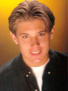 Ladies believe it or not this is Jensen Ackles back in the day when he was on Days Of Our Lives