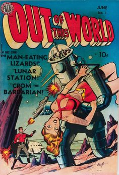 Gene Fawcette | Out of This World #1  | Avon | 1950