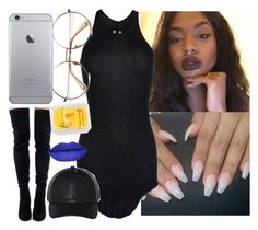 """""""Draft"""" by saucinonyou999 ❤ liked on Polyvore featuring Rick Owens, Wilfred and MANGO"""