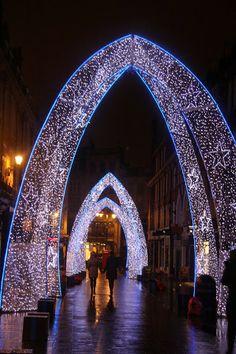 South Molton Street, London, Christmas Lights