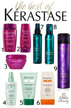 Kerastase is a huge hair care splurge, but their products are amazing! Here are my favorite products from Kerastase!